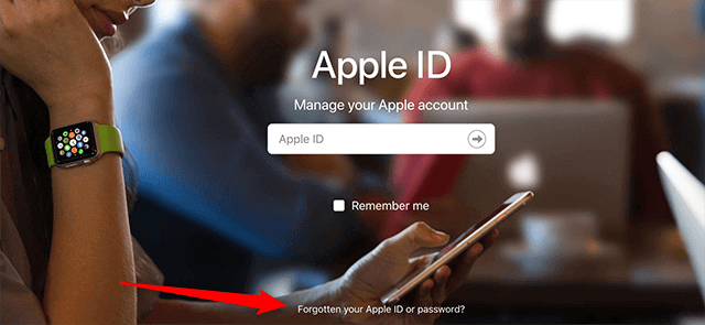 Forgot your Apple ID and Password