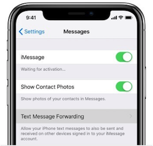 How to Activate Forward for Text Messages to Another iPhone
