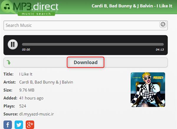 Free Download Cardi B I Like It MP3 to Computer – MP3.direct