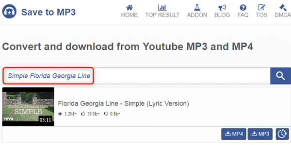 Free Download Simple MP3 – Savetomp3