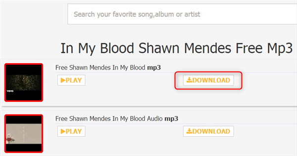 Free Download Shawn Mendes In My Blood MP3 – Mp3downloadx