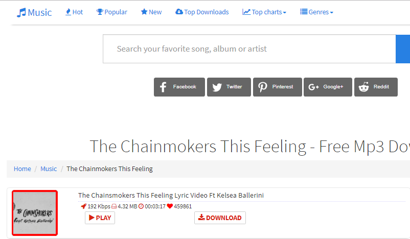 How to Free Download The Chainsmokers This Feeling mp3 via Musicavolute.com