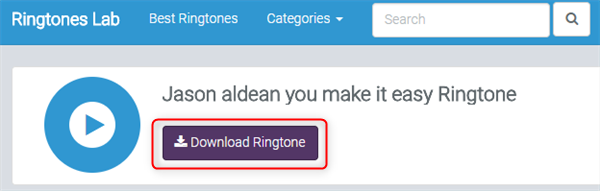 Free Download You Make It Easy Ringtone – Ringtones Lab
