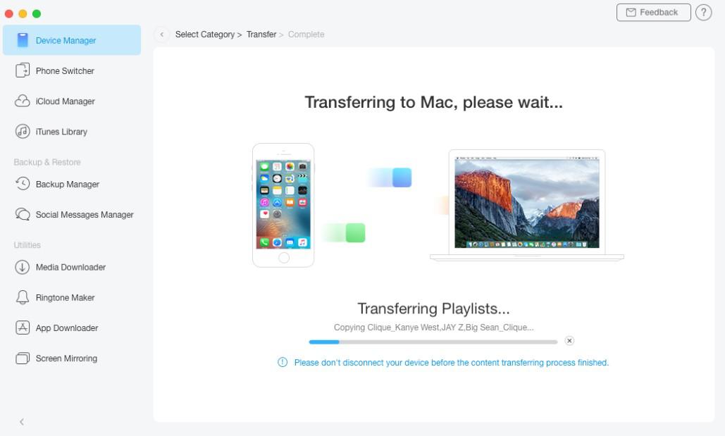 Transferring Process