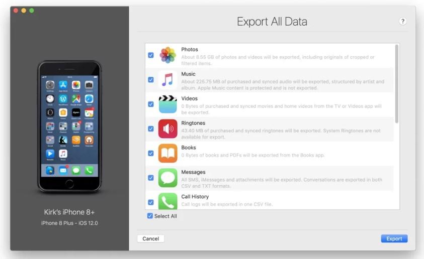 iMazing - iOS Transfer