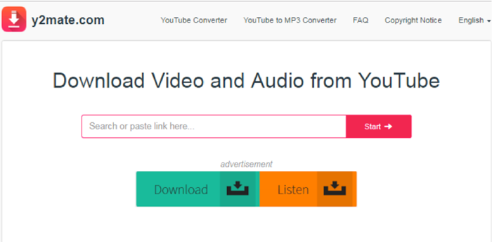 Free Online YouTube to Mp3 Converter - Y2Mate
