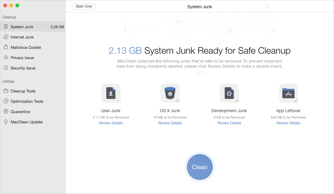 How to Free Up Space on Mac - Clear Junks Files on Mac