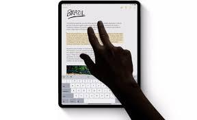 iPadOS New Feature - Gesture
