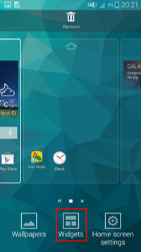How to Get Google Search Bar on Android Home Screen - Step 2