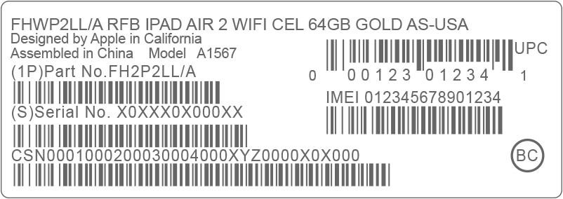 Get IMEI Number from Original Packaging