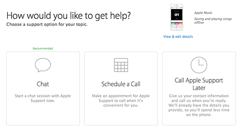 How to Contact Apple about Your Apple Music Problems – Step 5