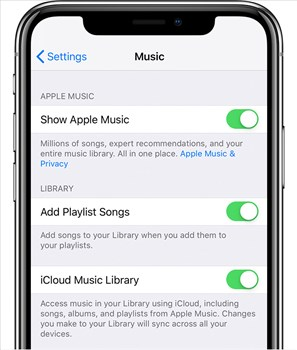 How to Get iTunes Library to iCloud on iPhone/iPad