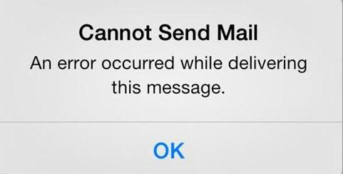iPhone Gmail Not Working - Cannot Send Mail