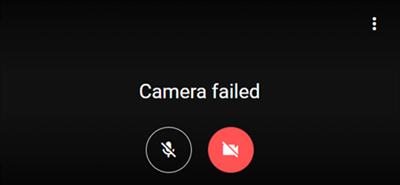 Google Meet Camera Failed to Work
