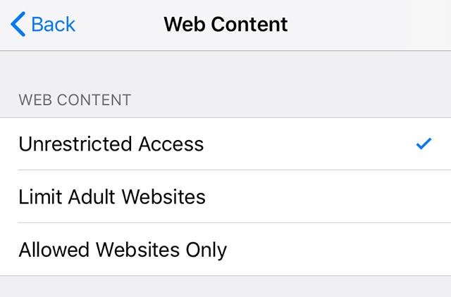 Block Adult Sites