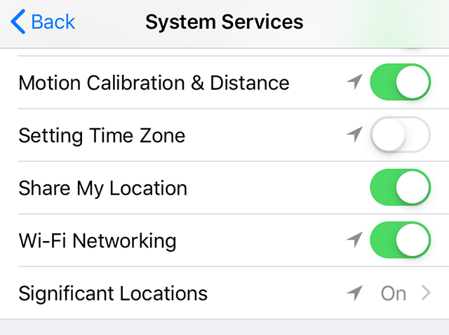Disable Time Change Option on iPhone