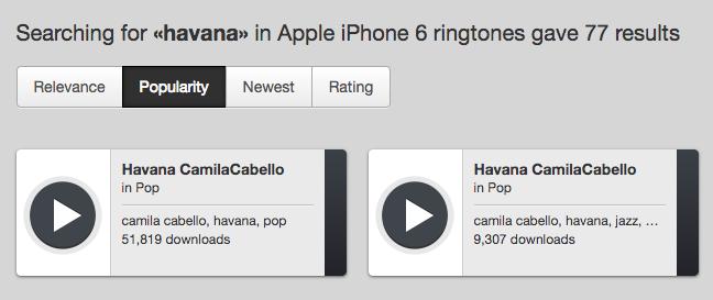 How to Download Havana Ringtone for iPhone – via ZEDGE