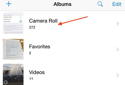 How to Hide Multiple Photos/Videos on iOS 9 – Step 1