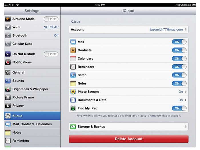 How Does iCloud Sync Your iDevice Content