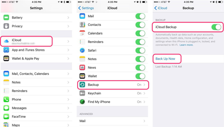 How Much Do You Know About iCloud - iCloud Backup