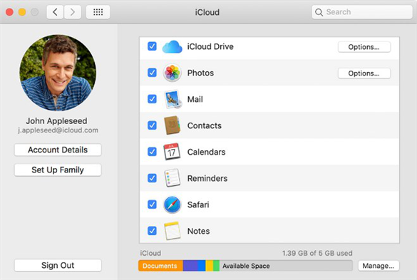 How Much Do You Know About iCloud - iCloud on Mac