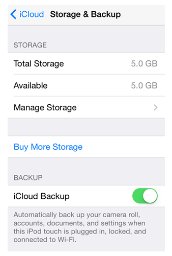 Backup to iCloud Automatically