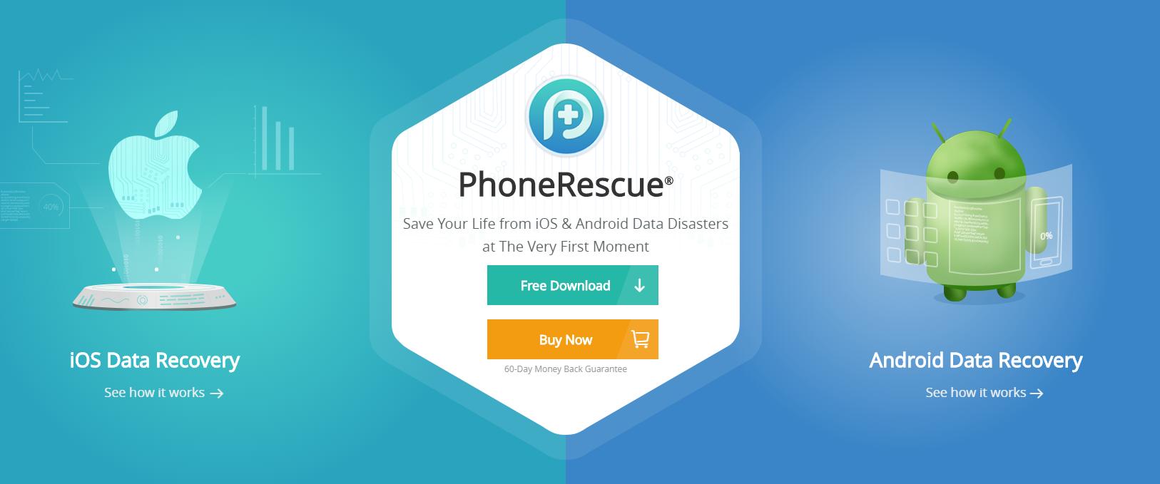 PhoneRescur Website