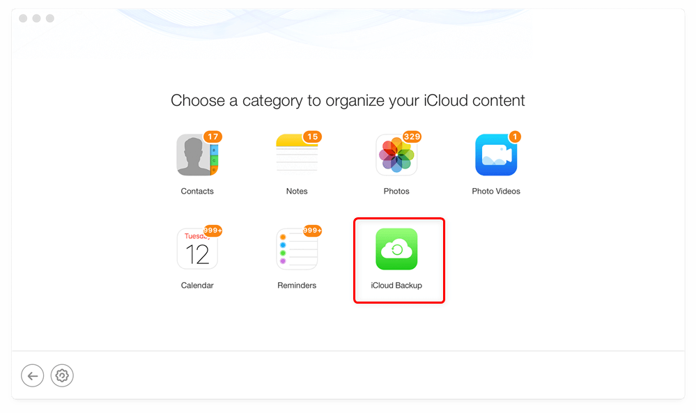 How to View iCloud Backup – Step 2