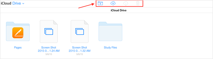 Access iCloud Drive via Browser – Step 3