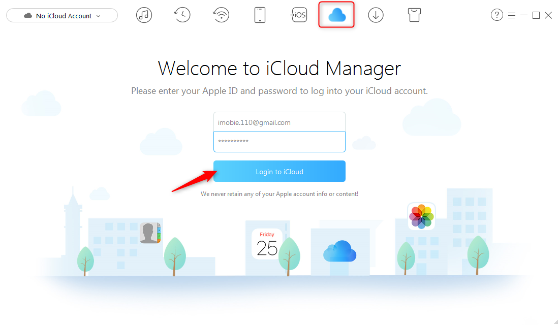 How to Access Messages on iCloud - Step 1