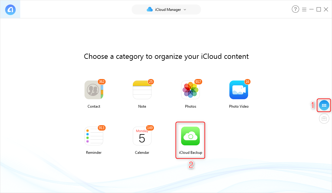 How to Access Messages on iCloud – Step 3