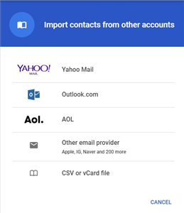 How to Access iCloud Contacts on Android - Step 6