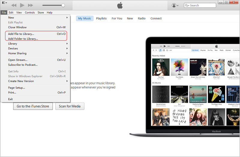 How to Add MP3 to iTunes from Computer