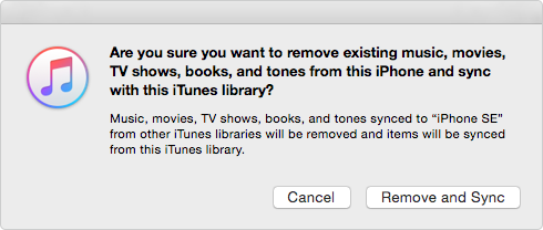 iTunes Pop-up Window