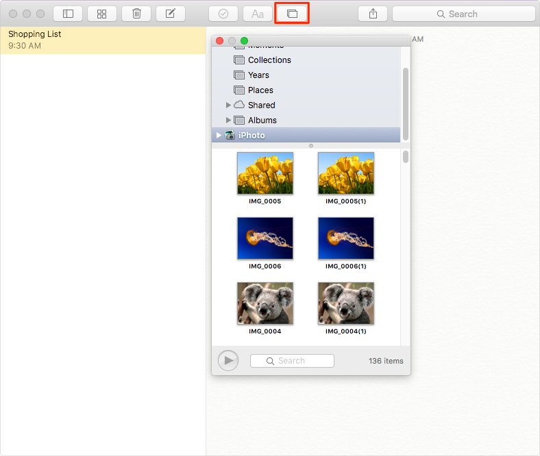 How to Add Pictures to Notes on Mac