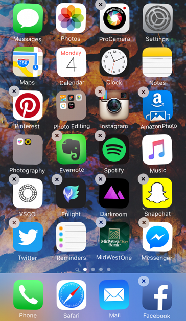 How to Arrange Apps on iPhone 6/6s (Plus) via Method 1