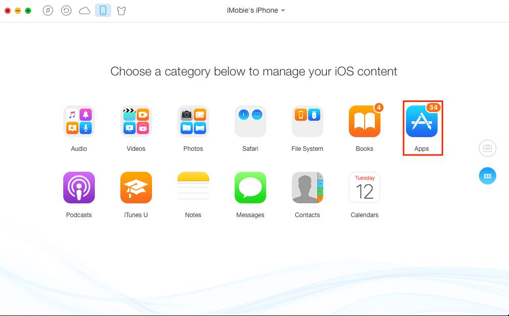 Backup iPad iPod touch – Step 2