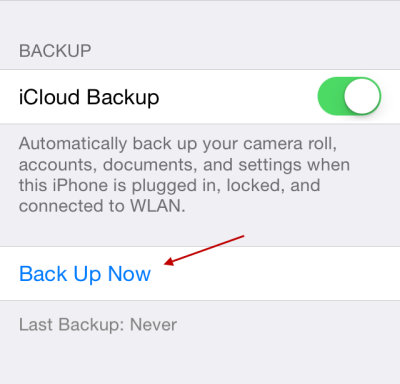 how to delete icloud backup on computer