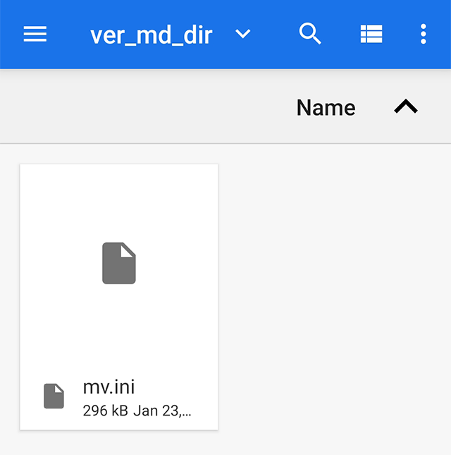 Select the Files to Upload