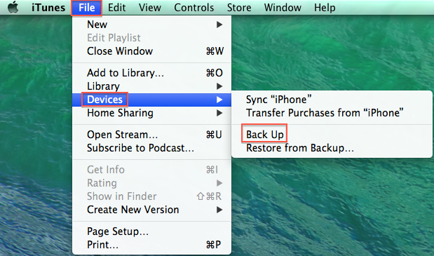 how to find itunes backup