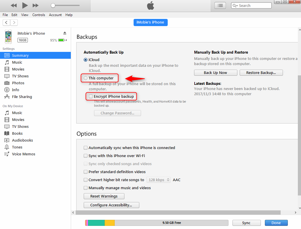 How to backup your ipad to itunes