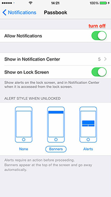How to Manage Notifications on iPhone – Step 3