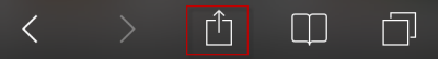 Action Icon to Enter Bookmark
