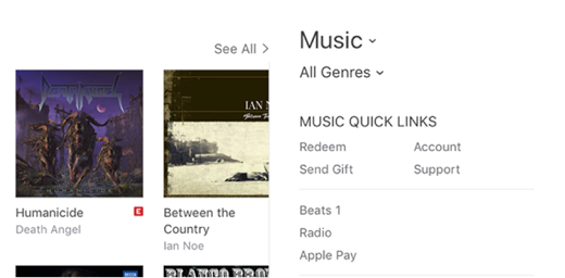 Access Your Account Settings in iTunes on Mac
