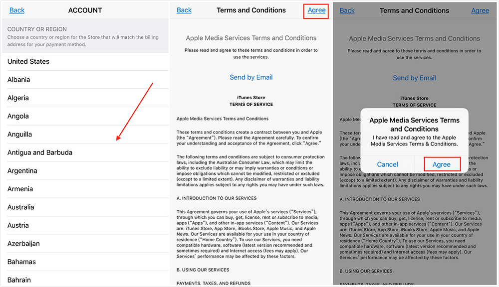 How to Change App Store Location - Step 4