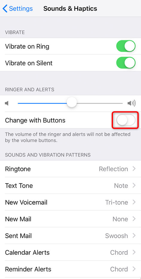 How to Change Ringer Volume on iPhone - Step 3