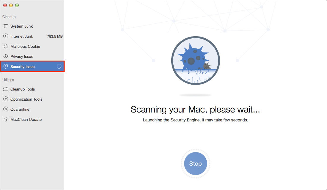 how to clear macbook of viruses