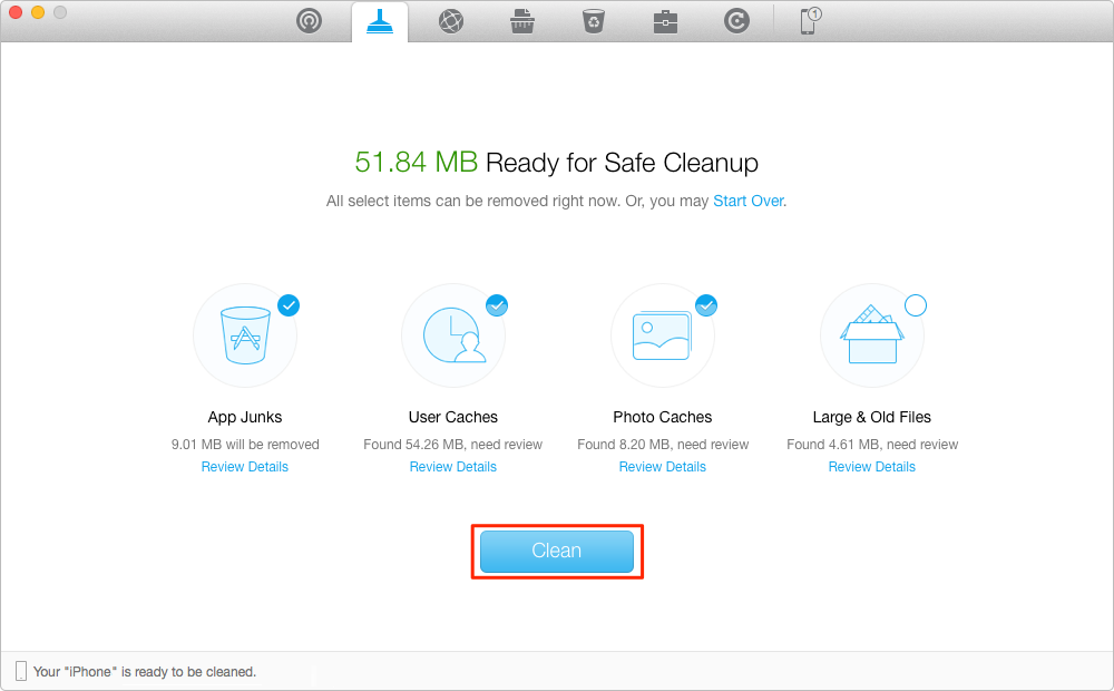 How to Clear Caches on iPhone – Step 2