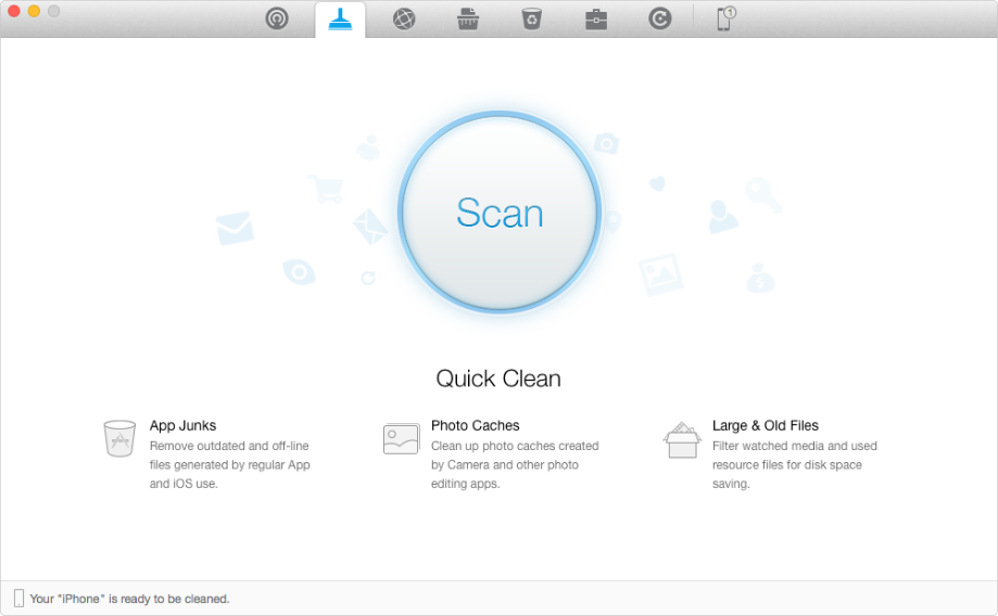 How to clear disk space on iPhone & iPad – Step 1
