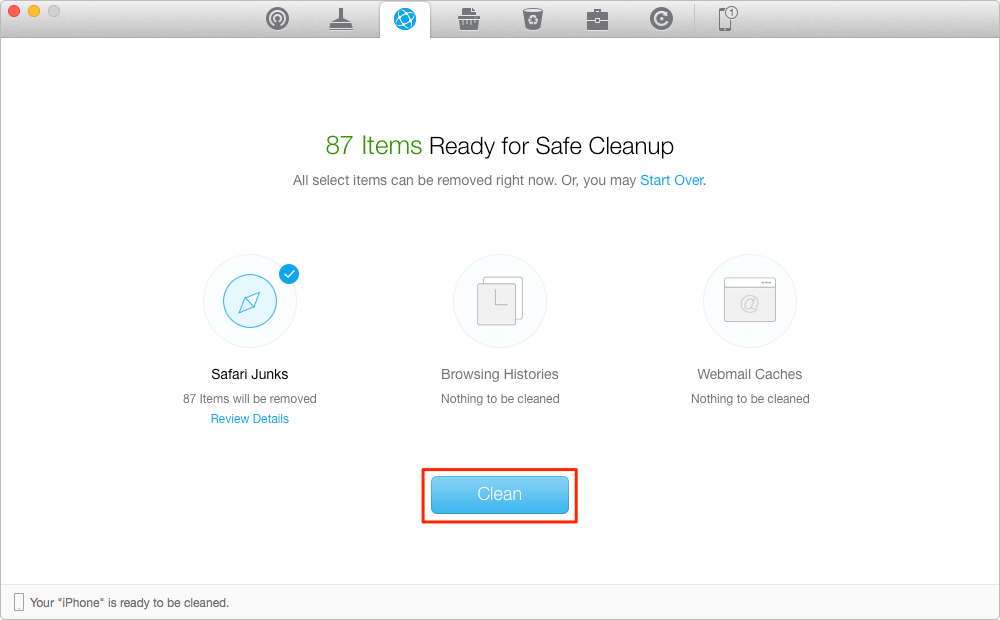 How to Clear History on iPhone – Step 2